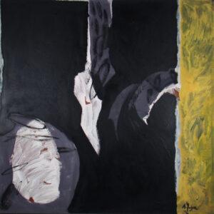 acrílico sobre madera, 122 x 122 cm, 1988