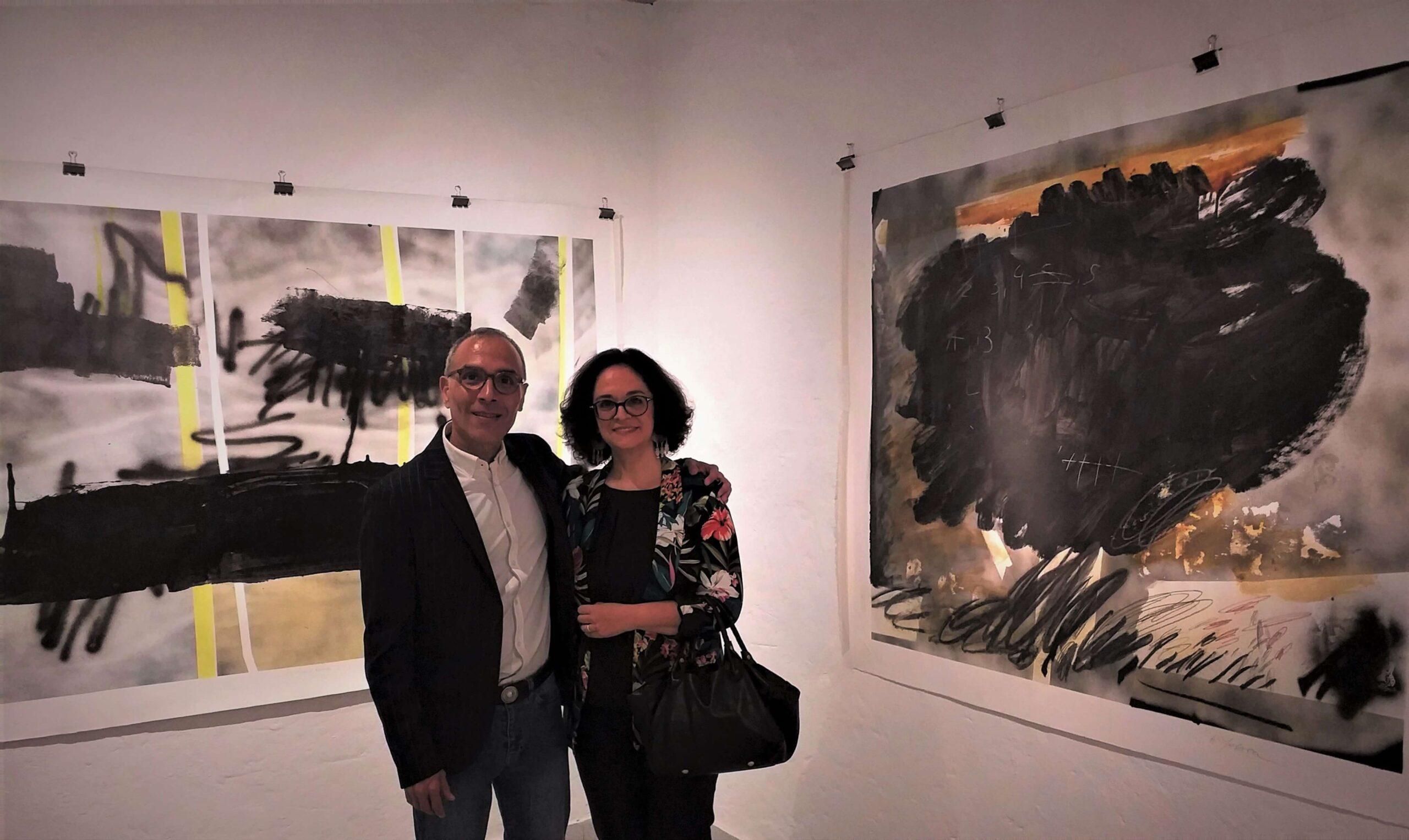 Nathalie Lacoste and Alexis Yebra