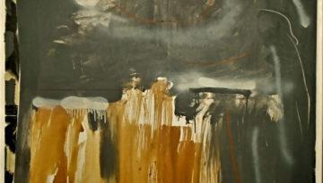 acrílico y aerosol sobre tela, 130 x 97, 2010