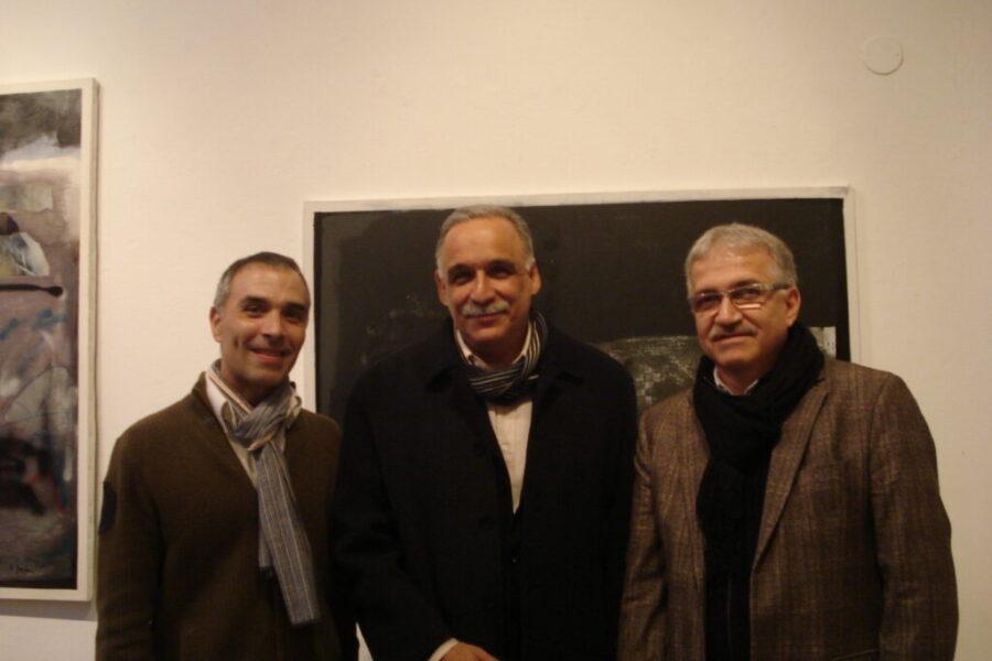 Ticio Escobar, Osvaldo Salerno and Alexis Yebra
