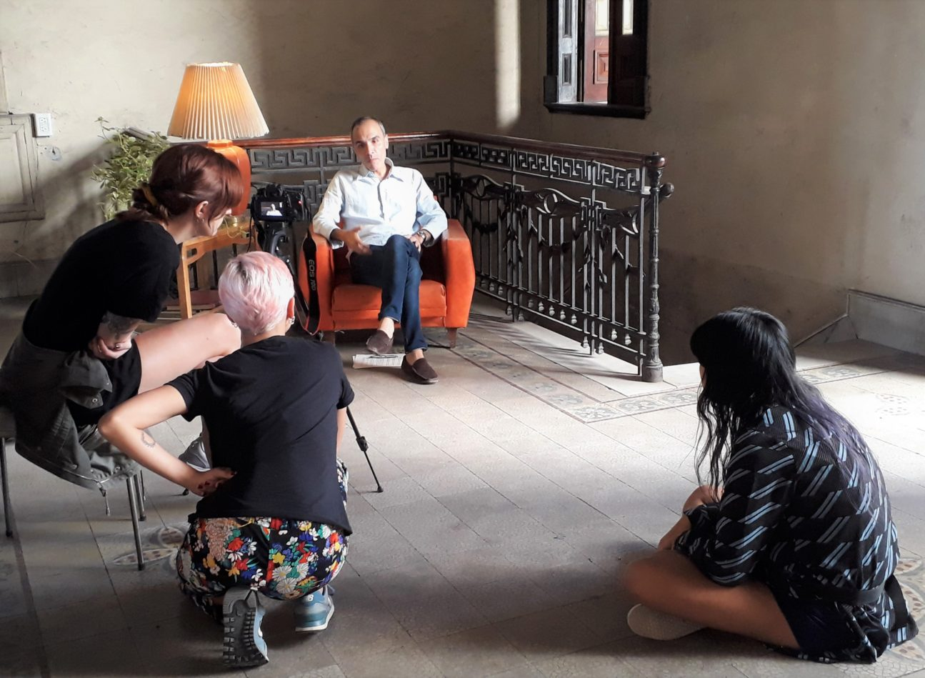 Interviewing Alexis Yebra
